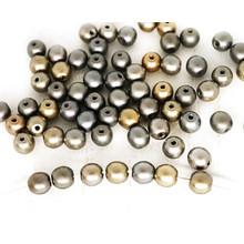 4mm-16mm Filigrane runde Akzent Spacer Perlen Für Schmuck Machen Erkenntnisse